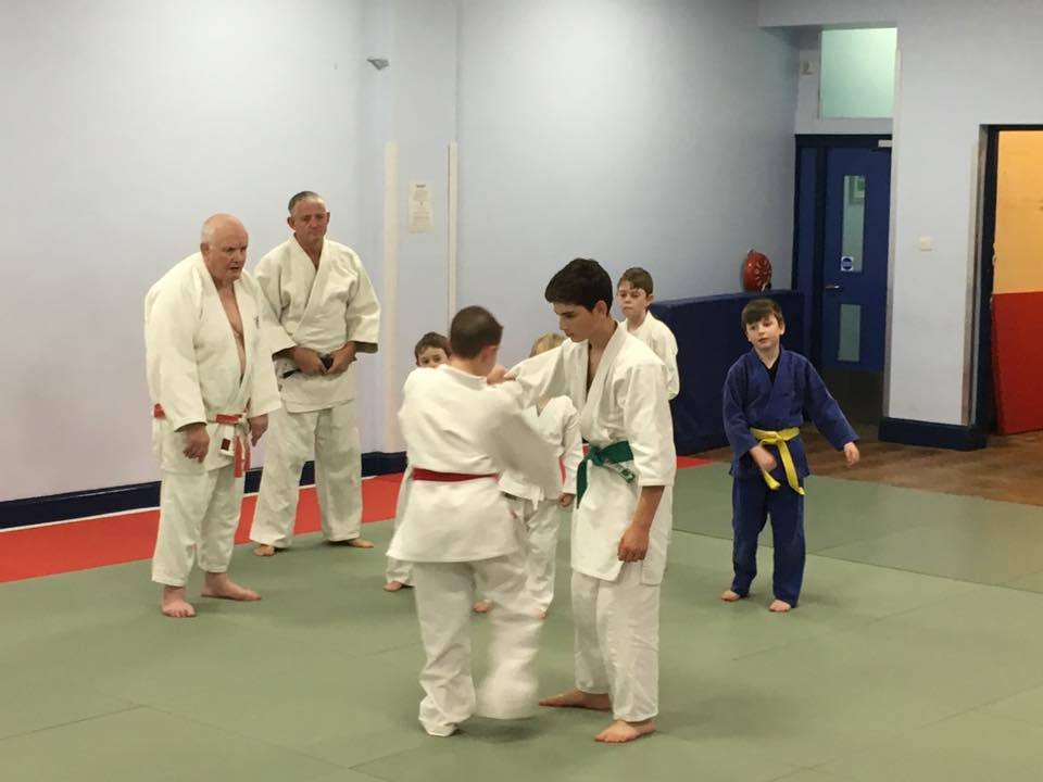 Kids Judo in Manchester